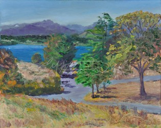Discovery, at Discovery Park, Seattle, Washington, Plein Air 8 x 10 Oil on Ampersand Museum Series Gessoboard $275